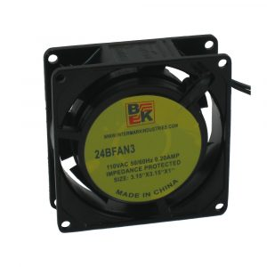 "3.15"" x 1"" 110V Metallic Fan"