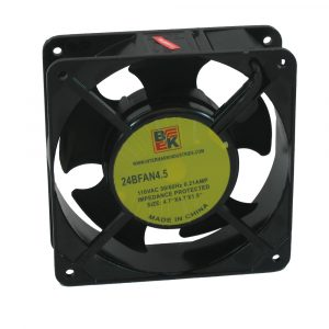 "4.7"" x 1.5"" 110V Metallic Fan"