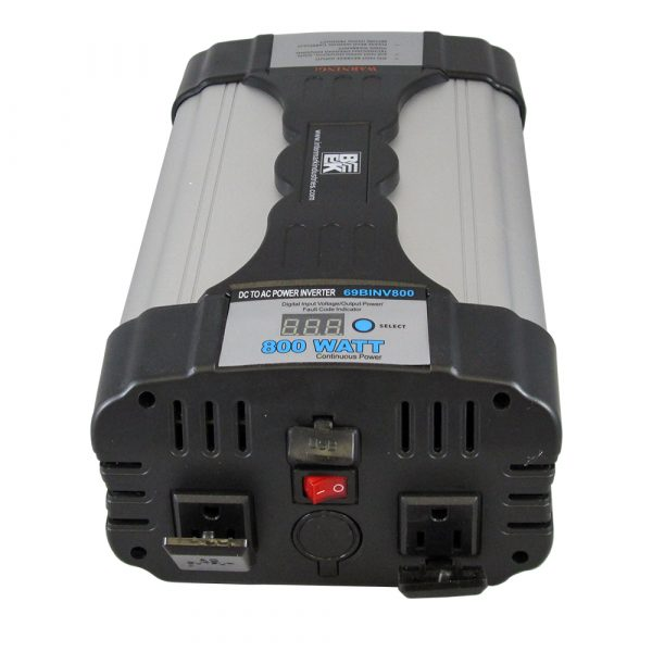 DC to AC Power Inverter 1600W Peak / 800W Continuous