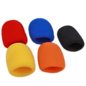 Colored Foam Microphone Wind Screens