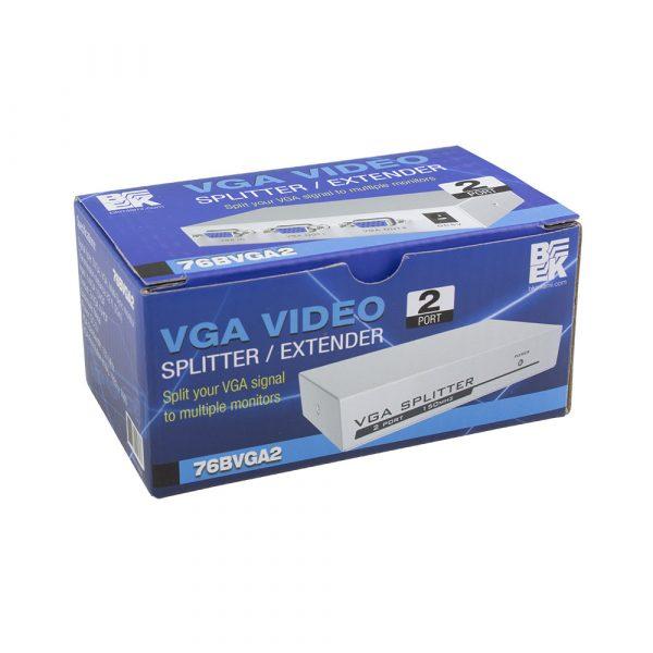 2-Port VGA Video Splitter / Extender