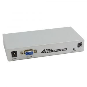 4-Port VGA Video Splitter / Extender