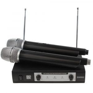 Dual Channel VHF Wireless Microphone