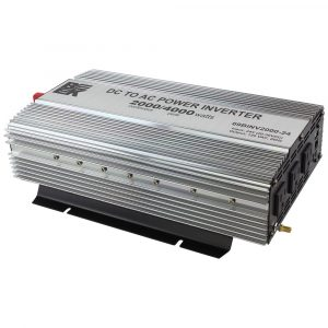 24V DC to AC Power Inverter 4000W Peak / 2000W Continuous
